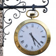 straße clock — Stockfoto