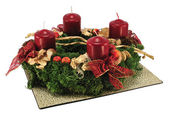 Advent wreath — 图库照片