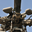 Stock Photo: Helicopter rotor