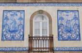 Balcony at Aveiro — Stock Photo