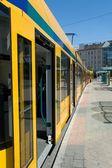 Longest articulated tram — Stock Photo