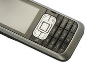 Mobile phone detail — Stock Photo