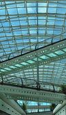 Shopping mall atrium — Stock Photo