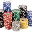 Poker chips — Stock Photo #2140913