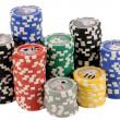Poker chips — Stock Photo #2140913