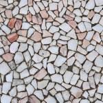 Marble pavement — Stock Photo