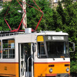 Yellow tram — Foto de Stock