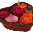 Royalty-Free Stock Photo: Basket with flowers
