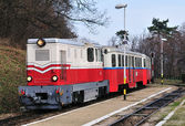 Children's Railway, Budapest — Stock Photo
