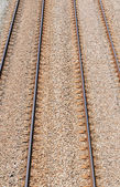 Parallel rails — Stock Photo