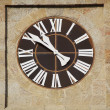 Stock Photo: Church clock detail