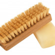 Stock Photo: Brush and soap