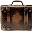 Old suit-case - Stock Photo