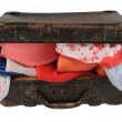 Open suitcase — Stock Photo