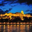 Stock Photo: Castle in Budapest