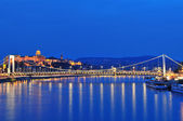 Budapest by night — Stock Photo