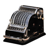 Mechanical calculator — Stock Photo
