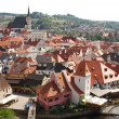 Krumlov - european town  - Czechia - Stock Photo