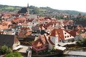 Krumlov - europese stad - tsjechië — Stockfoto