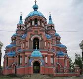 Iglesia en irkutsk — Foto de Stock