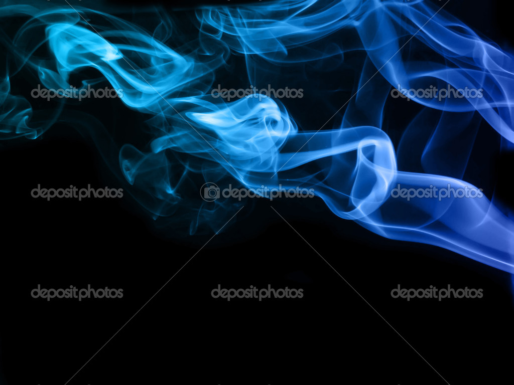 Color cmoke on black — Stock Photo #1837253
