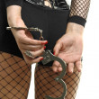 Handcuffs - Foto Stock