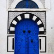 Tunis Medina Door — Stock Photo