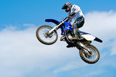 Moto-cross — Stockfoto