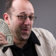Businessman with Money — Stock Photo