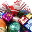 Christmas decoration assortment — Stock Photo #1799424