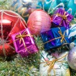 Christmas decoration assortment — Photo