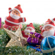 Stock Photo: Christmas decoration assortment