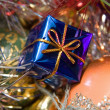 Christmas decoration assortment — Stockfoto