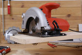 Circular saw — Stock Photo