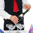 Stock Photo: Munlocks champagne