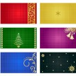 Stock Vector: Cards backgrounds