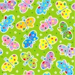 Seamless butterflies pattern — Stock Vector #1872701