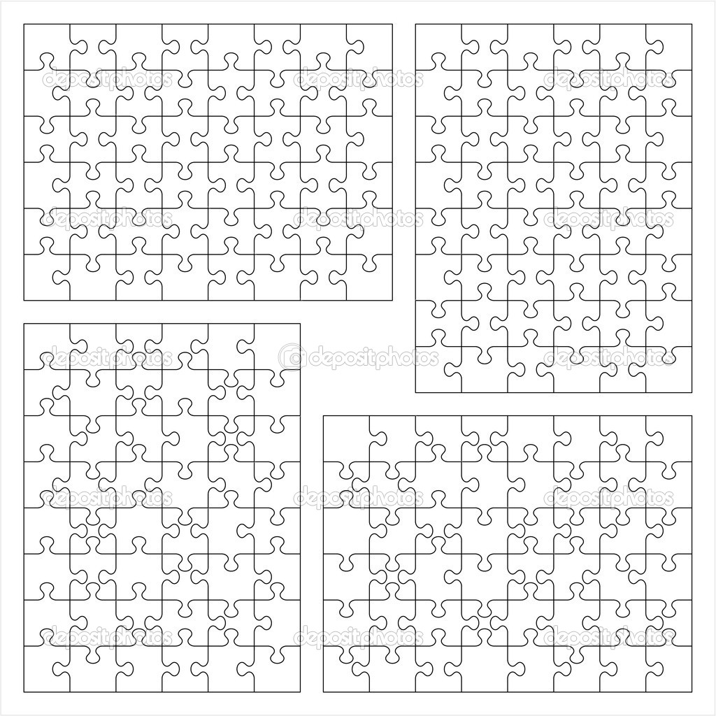 2 Piece Jigsaw Puzzle Template http://depositphotos.com/1914774/stock-illustration-Jigsaw-puzzle-blank-templates.html