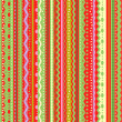 Stripes and laces seamless pattern — Vecteur #1962431