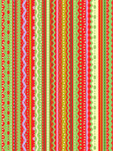 Stripes and laces seamless pattern — Stockvector