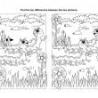 Royalty-Free Stock ベクターイメージ: Puzzle or coloring page