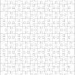 Royalty-Free Stock Imagen vectorial: Jigsaw puzzle blank template