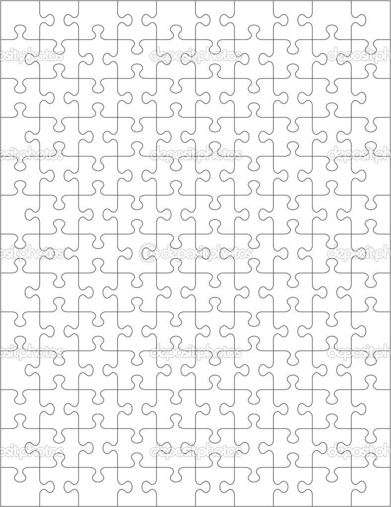 2 Piece Jigsaw Puzzle Template http://depositphotos.com/1981990/stock-illustration-Jigsaw-puzzle-blank-template.html