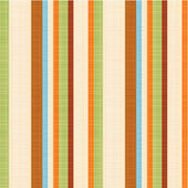 Seamless striped fabric pattern — Stockvector