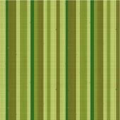 Naadloze gestreepte stof patroon, groen — Stockvector