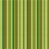 Seamless striped fabric pattern, green — Vecteur