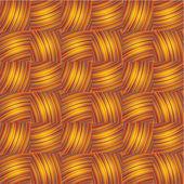 Naadloze geweven textuur — Stockvector
