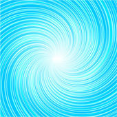Abstract blue whirlpool — Stock Vector