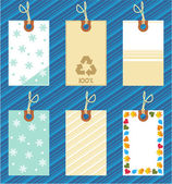 Hang tags templates — Stock Vector