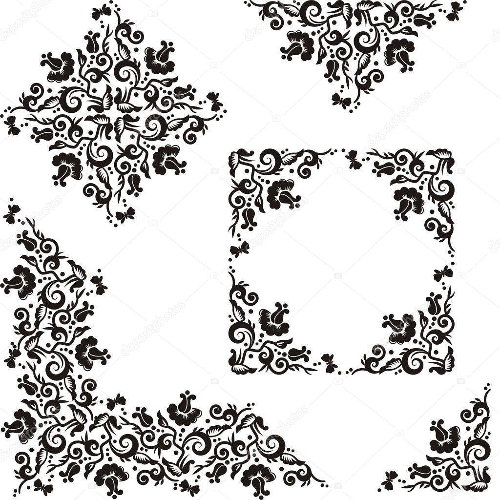 Floral Decorative Designs Decorative Floral Pattern